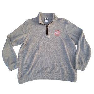 Detroit Red Wings 1/2 Zip Sweater